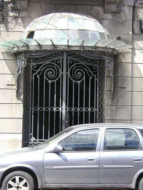 Porta Estilo Art Nouveau