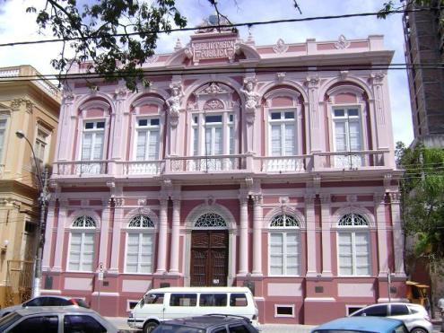 Bibliotheca Pública, acabou de ser restaurada