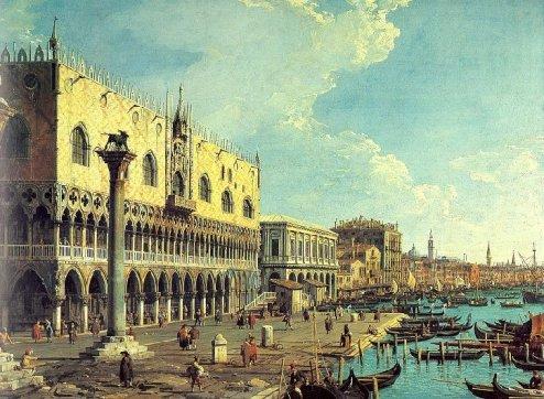 Veneza retratada por Canaletto