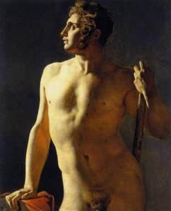 Ingres - Estudo de nu