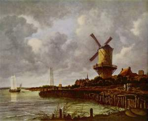 Paisagem de Jacob van Ruisdael