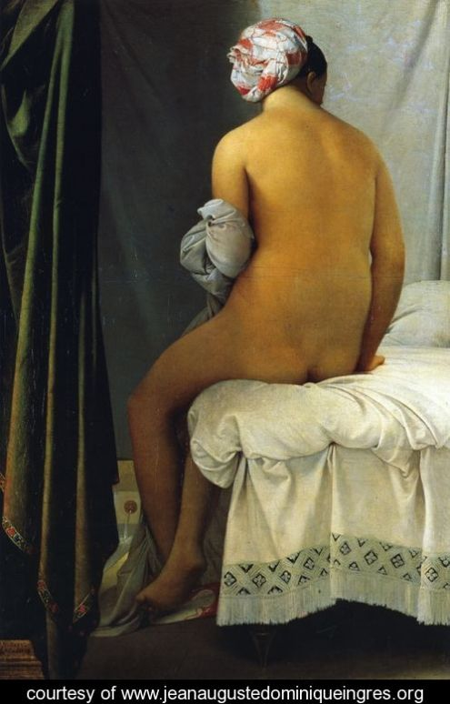 Ingres - A grande Banhista